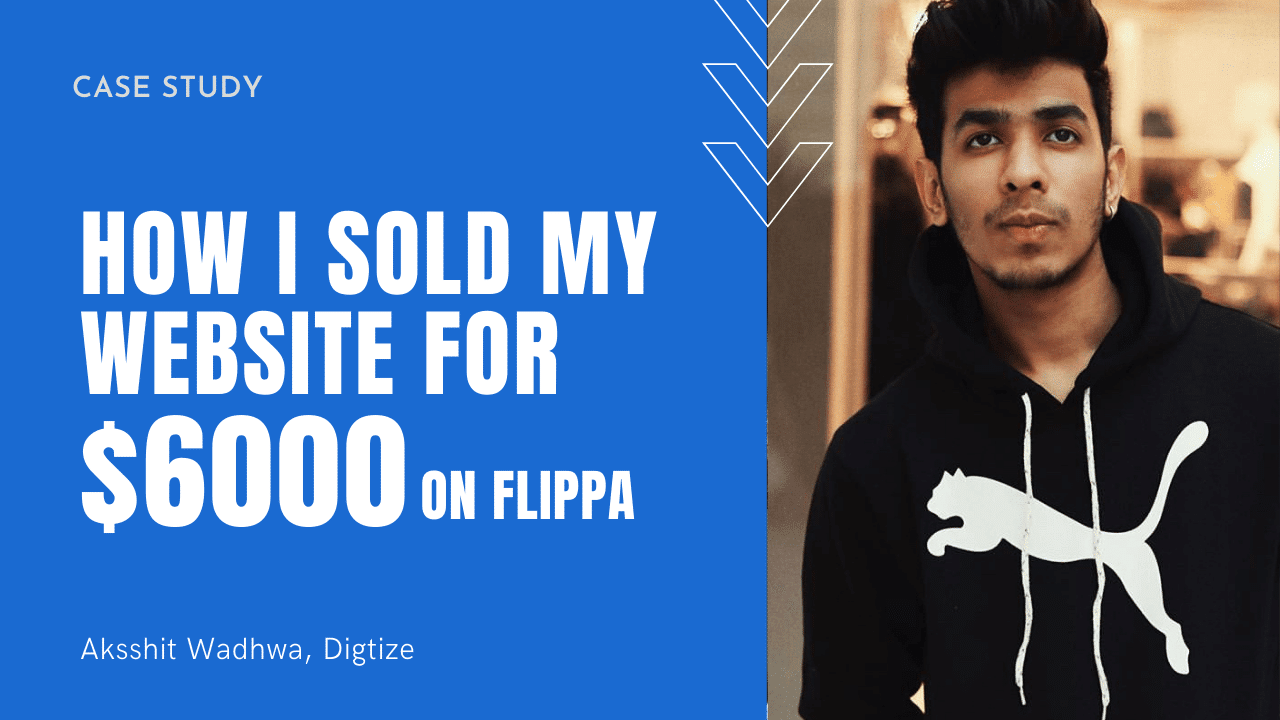 How I Sold My Website for $6000 on Flippa
