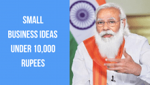 Small Business ideas under 10,000 Rupees