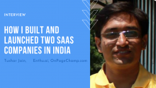How I Built and Launched Two SaaS Companies in India